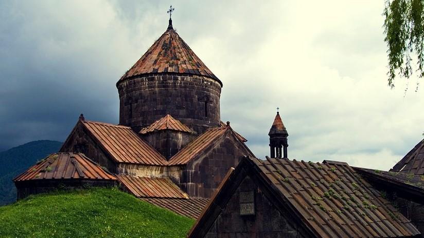 VIDEO: Un incendio azota un monasterio armenio medieval, Patrimonio Mundial de la UNESCO