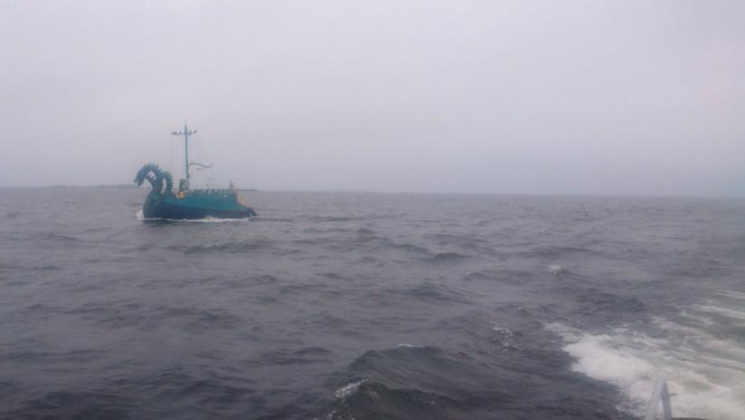 """La Guardia Costera finlandesa detecta un """"monstruo marino"""", pero resulta ser un barco medieval ruso (FOTO)"""