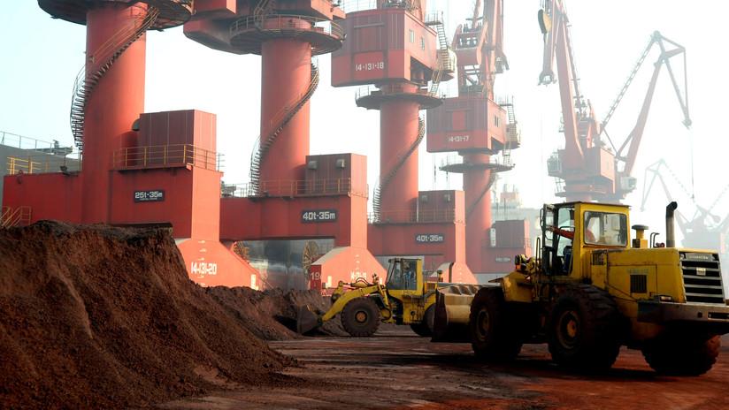 Caen en China las exportaciones de tierras raras y las importaciones sufren su peor caída desde 2016