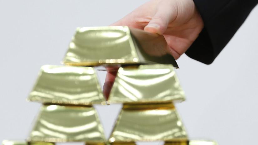 China aumenta sus reservas de oro por sexto mes consecutivo
