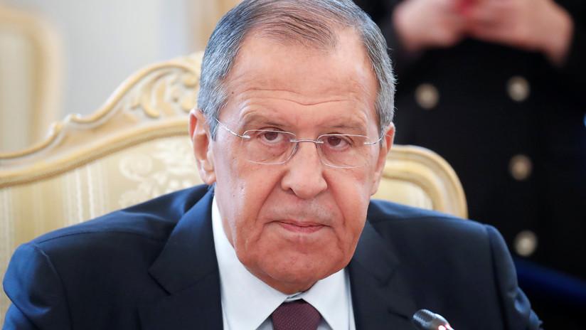 Lavrov: EE.UU. intenta adaptar el régimen de control de armas a sus intereses o destruirlo