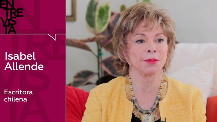 Isabel Allende: ¿Es una invasión cuando la gente huye de la pobreza y la violencia?