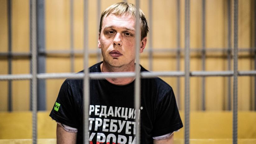 Liberan al periodista ruso Iván Golunov y cierran el caso en su contra