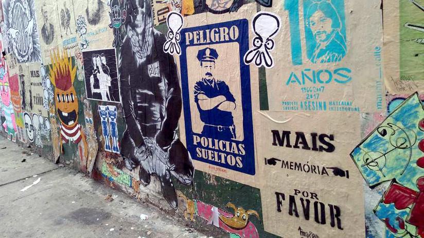 'Mais memória por favor': así contesta el arte callejero de Buenos Aires a las políticas de América Latina