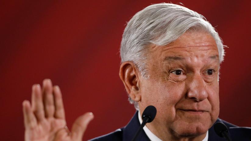 """López Obrador dice que la 'amenaza' arancelaria de Trump se alejó solo """"algún tiempo"""""""