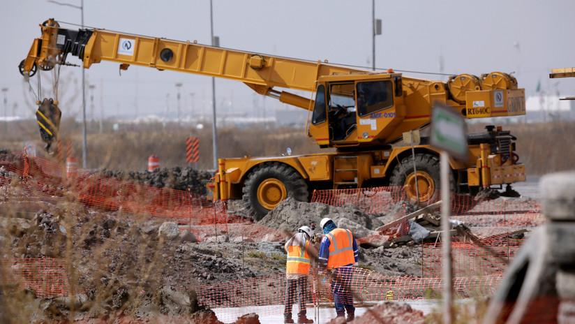 Un tribunal ordena conservar las obras del Nuevo Aeropuerto Internacional de México