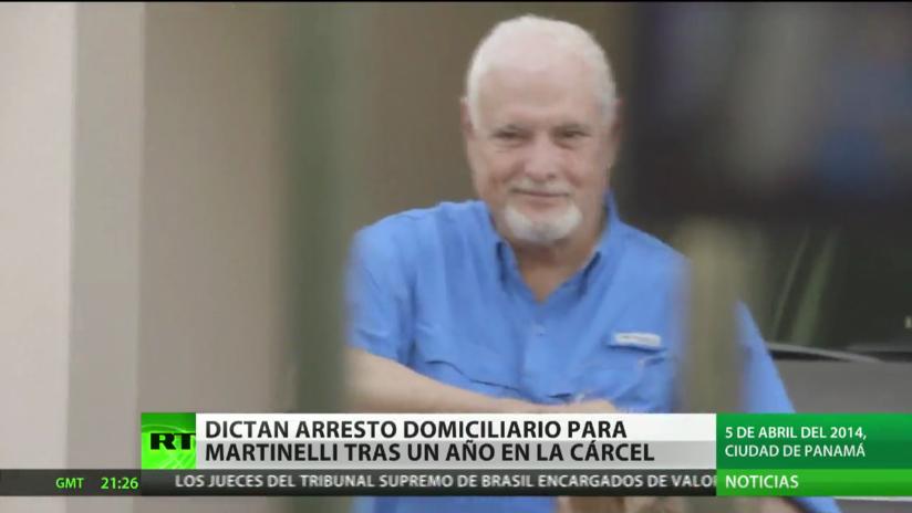 Panamá: Arresto domiciliario para el expresidente Ricardo Martinelli tras un año en la cárcel