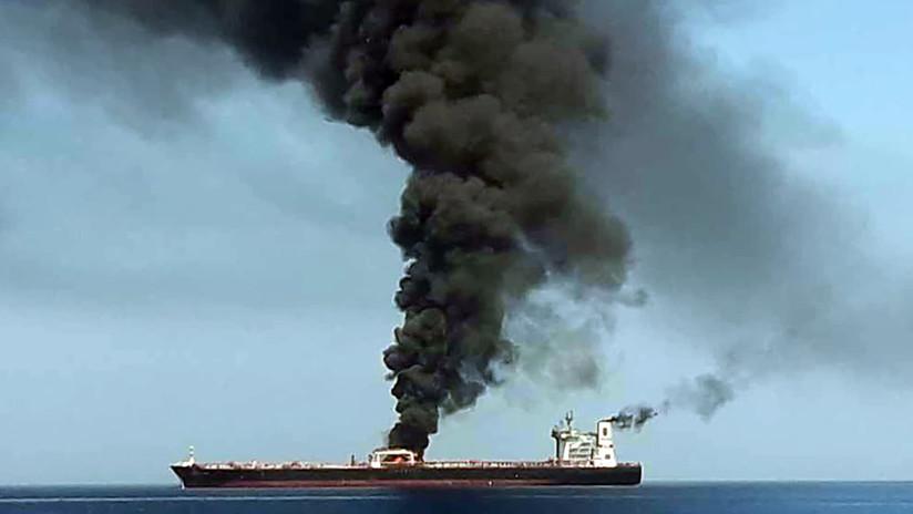 Preocupación por el ataque a dos petroleros en el golfo de Omán