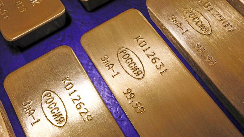 Moscú podría volver a un 'patrón oro' en el mercado de las criptomonedas