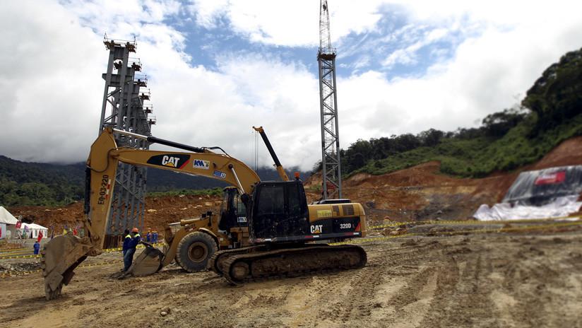 Ecuador posee una de las minas subterráneas de plata, oro y cobre más grandes del mundo