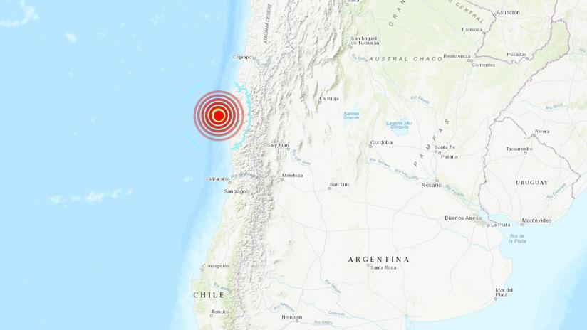 Un sismo de magnitud 6,5 sacude el norte de Chile