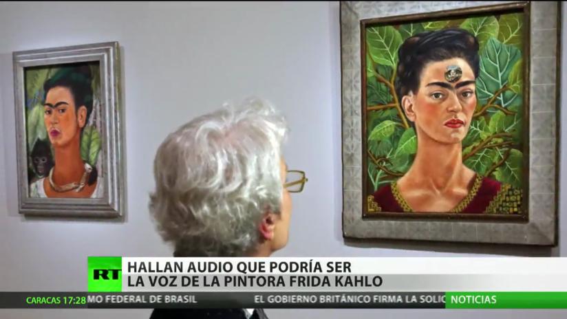 México: Hallan un audio con la supuesta voz de la pintora Frida Kahlo