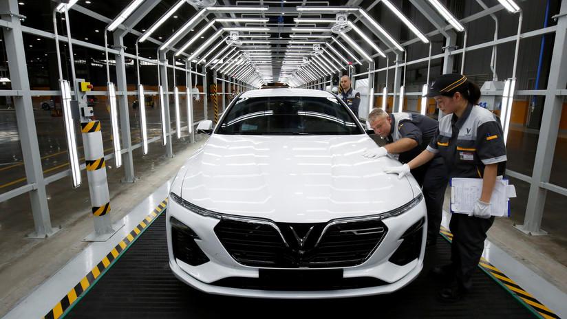 FOTOS: Vietnam comienza la producción comercial de sus primeros autos nacionales