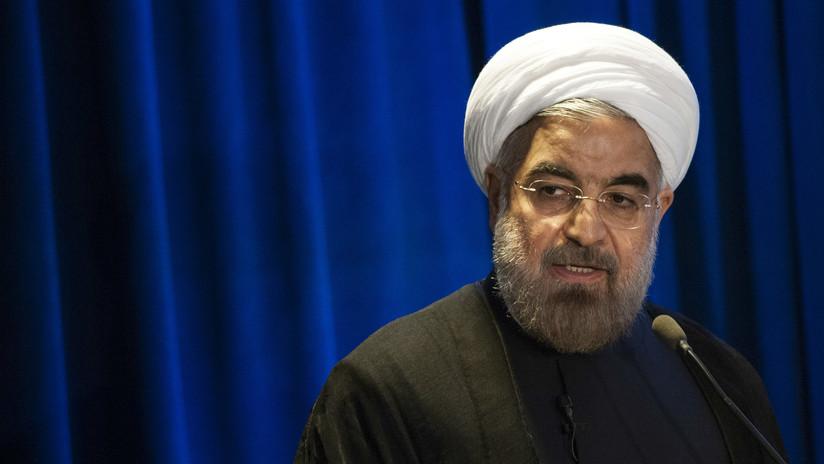 """Rohaní: Las acciones de EE.UU. son """"una seria amenaza"""" para la estabilidad del mundo"""