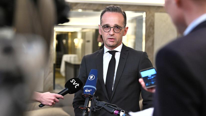 Ministro alemán de Exteriores: El video de EE.UU. no basta para culpar a Irán por los ataques a los petroleros