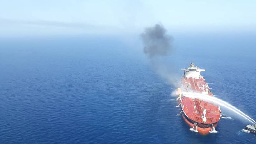 CNN: Un barco iraní habría disparado un misil contra un dron de EE.UU. antes del ataque en el golfo de Omán
