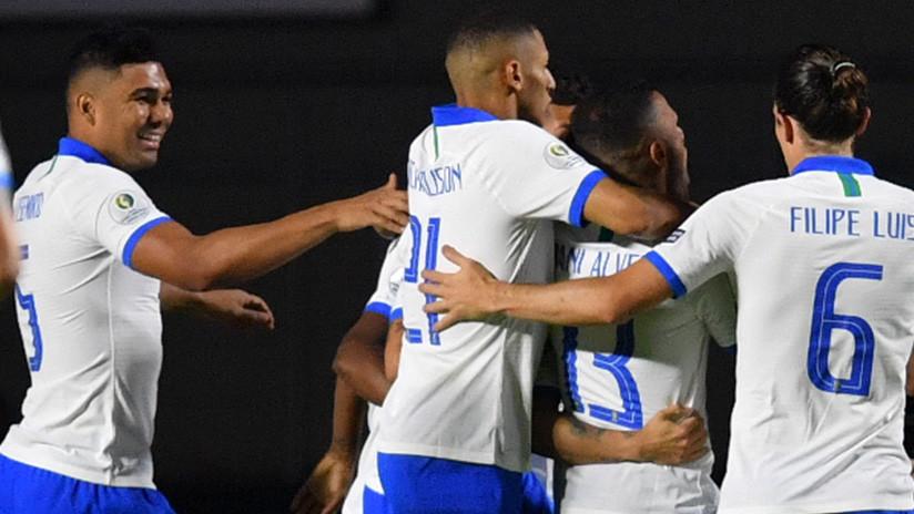 Brasil golea 3-0 a Bolivia en su debut en la Copa América