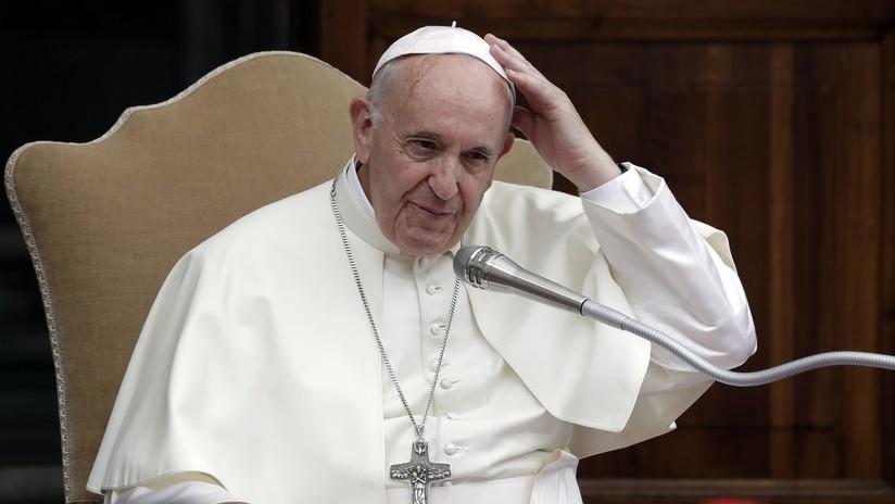 """El papa Francisco insta a una """"transición energética radical"""" para afrontar la """"emergencia climática"""""""