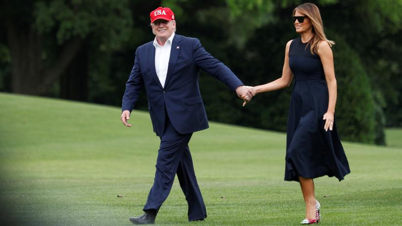 """""""Tenemos nuestra propia Jackie"""": Trump compara a Melania con Jacqueline Kennedy"""