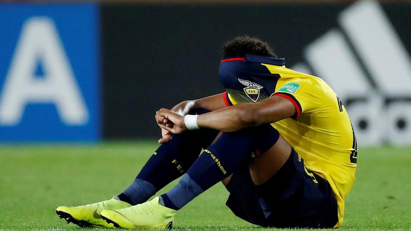 VIDEO: La emocionante reacción de un futbolista ecuatoriano que sorprendió a todos en el Mundial sub-20