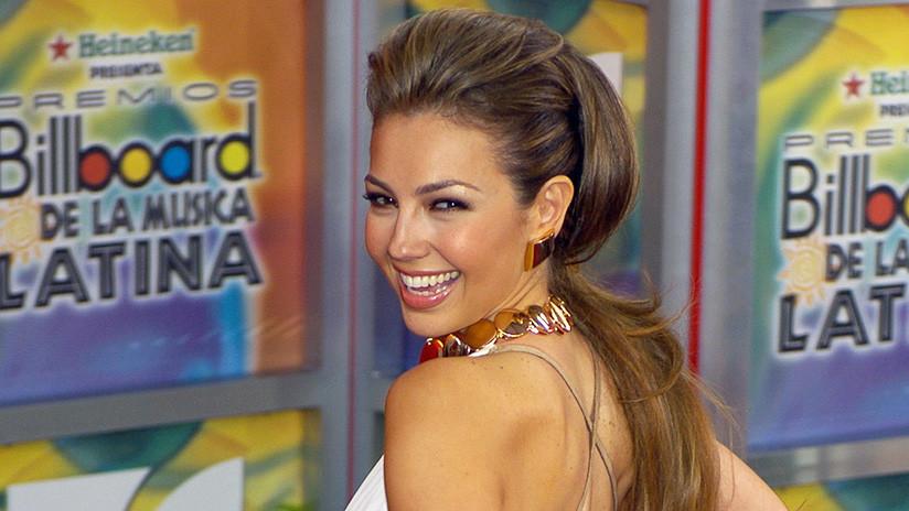 """""""Así o más estúpida"""": Thalía publica un baile improvisado en una tienda y la Red no perdona"""