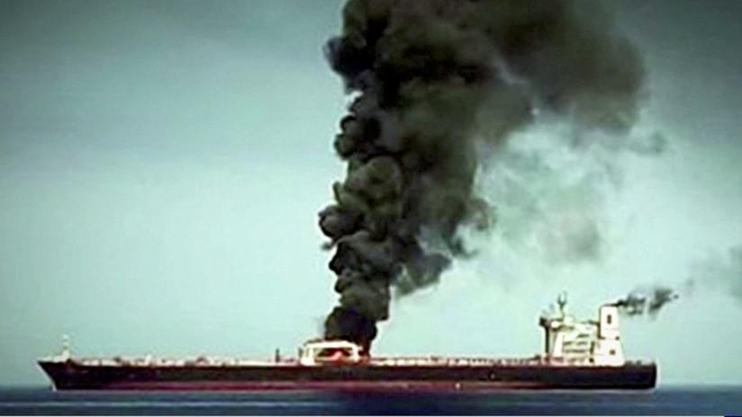 """Expertos cuestionan el video de EE.UU. sobre el ataque a los petroleros y evocan otras """"pruebas fabricadas"""""""
