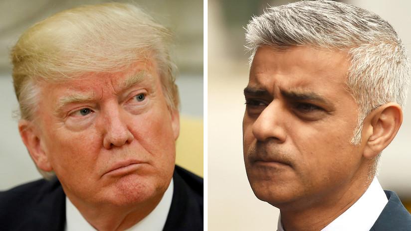 """""""¡Destruye la ciudad!"""": Trump afirma que Londres """"necesita un nuevo alcalde lo antes posible"""""""