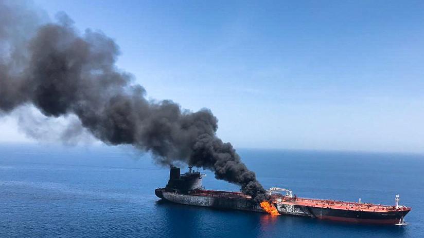 Mando Central de EE.UU.: Un misil iraní trató de derribar un dron de EE.UU. en el golfo de Omán