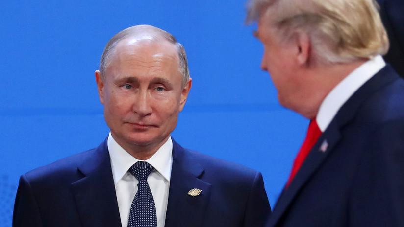Kremlin: Rusia está lista para celebrar una reunión Putin-Trump antes del G20, pero EE.UU. no responde