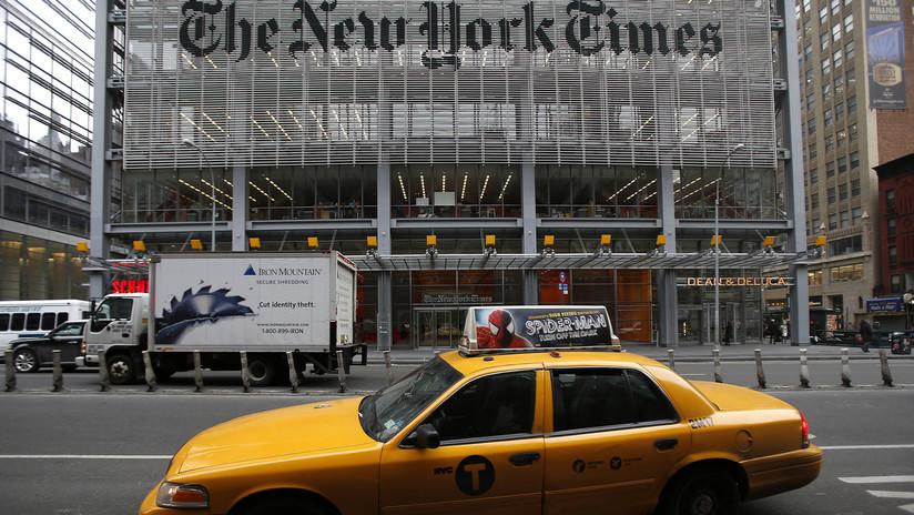 """The New York Times responde a Trump, que tachó de """"traición"""" un artículo sobre ciberataques a Rusia"""