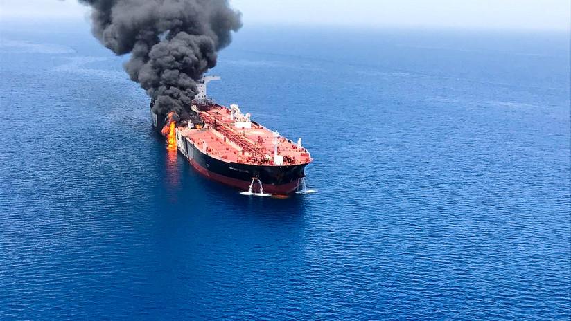 """Presidente del Parlamento iraní: """"EE.UU. podría haber estado detrás de los ataques a los petroleros"""""""