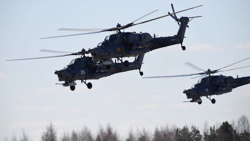 Rusia termina sus pruebas del avanzado helicóptero de ataque 'Supercazador nocturno' en Siria