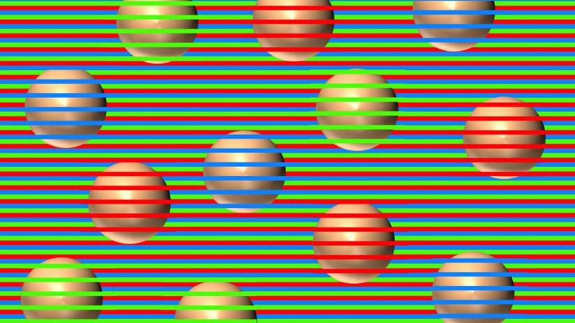¿De qué color son las esferas? Ilusión óptica que obliga al cerebro a 'inventar' colores se vuelve viral (FOTO)