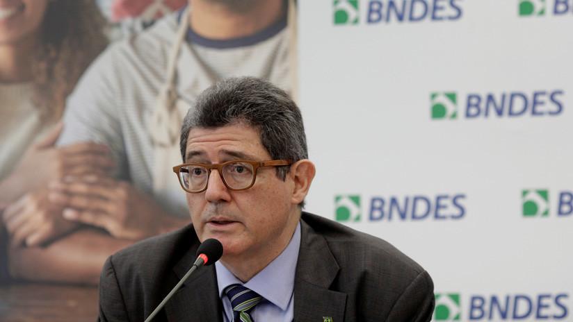 El presidente del banco de desarrollo de Brasil dimite tras la amenaza de Bolsonaro