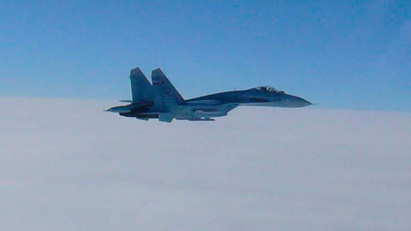 Cazas rusos interceptan bombarderos de EE.UU. que se acercaban a la frontera rusa desde los mares Negro y Báltico