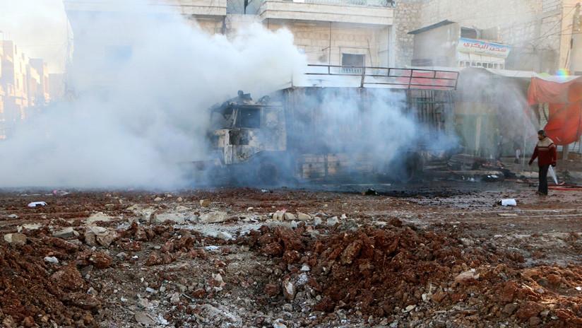 Rusia: Un ataque terrorista en Alepo deja al menos 11 civiles muertos