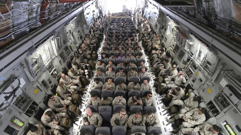El Pentágono anuncia el despliegue de un millar más de tropas en Oriente Medio
