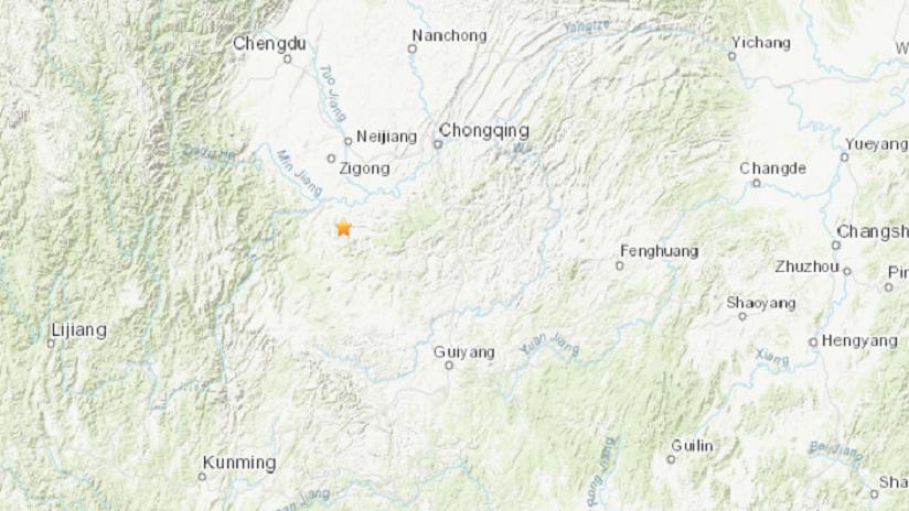 Otro terremoto de magnitud 5,2 sacude la provincia china de Sichuan