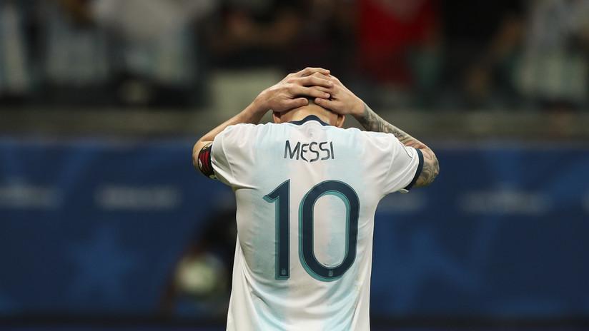 """Falcao habla del """"precio"""" que ha tenido que pagar Messi tras la derrota ante Colombia en la Copa América"""