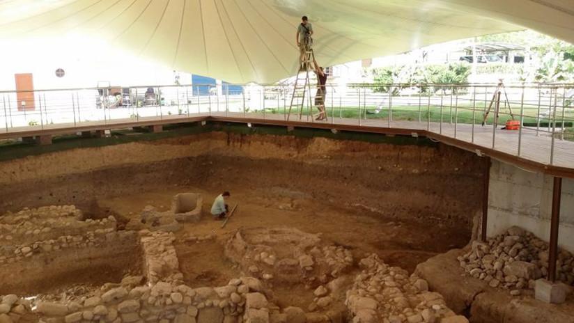 FOTOS: Científicos rusos hallan huellas romanas en la legendaria ciudad bíblica de Jericó