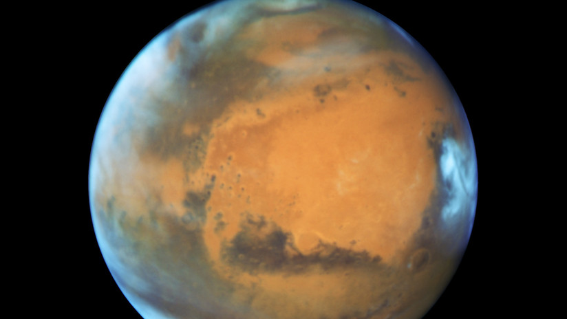 El 'humo meteórico' explica el secreto de las nubes en la atmósfera de Marte