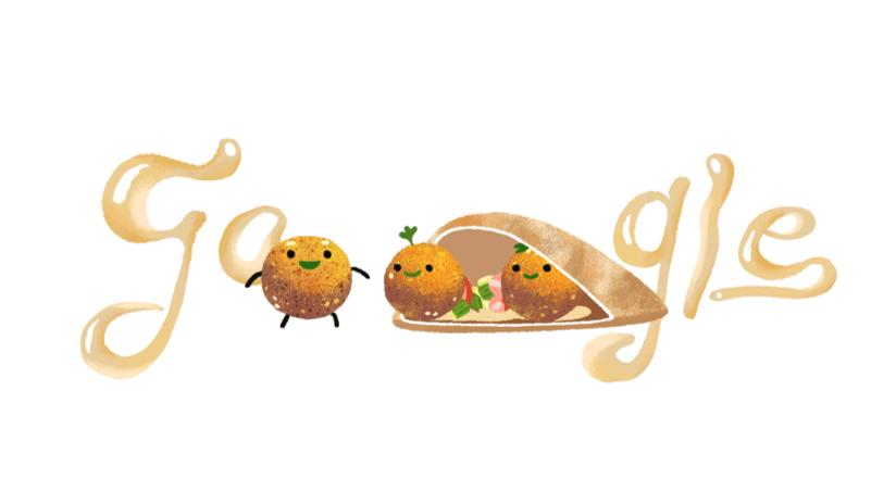 Google celebra el día del falafel y causa confusión en la Red