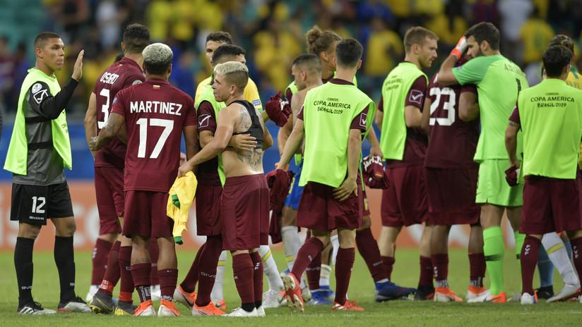 Brasil empata ante una resistente Venezuela y deja abierta la clasificación en el grupo A de la Copa América