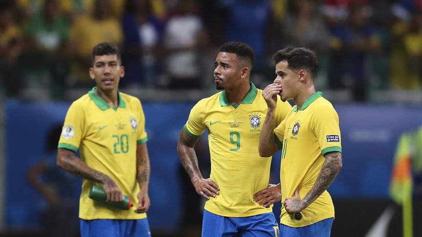 VIDEO: El árbitro y el VAR frustran a los brasileños en la segunda fecha de la Copa América anulándoles tres goles