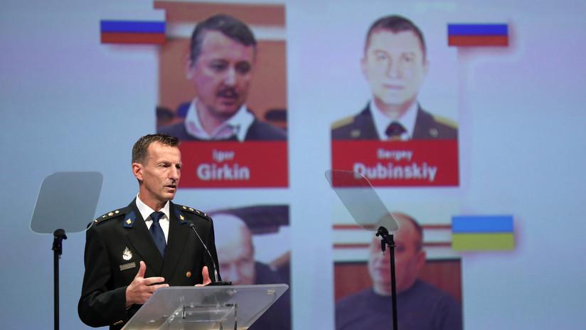 Investigadores internacionales nombran a 4 presuntos involucrados en el derribo del vuelo MH17 de Malaysia Airlines sobre Ucrania en el 2014