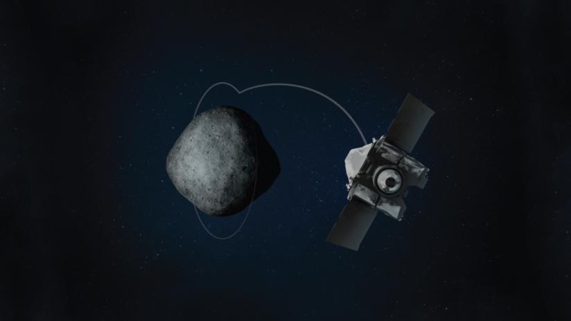 FOTO: La sonda OSIRIS-REx de la NASA logra un récord al orbitar a menos de 700 metros del asteroide Bennu