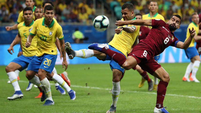 """""""VARezuela"""" y """"San VAR"""": los divertidos memes que dejó el empate entre Venezuela y Brasil en la Copa América"""