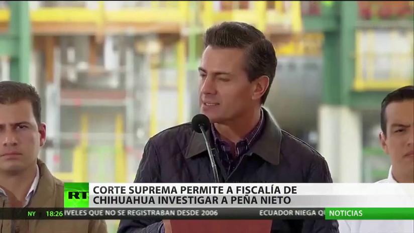 La Suprema Corte de México permite investigar al expresidente Enrique Peña Nieto