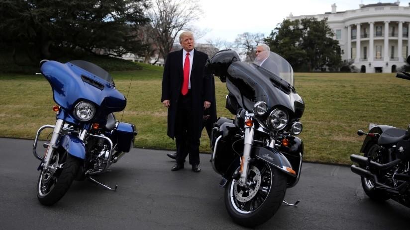 FOTO: Harley-Davidson fabricará en China motos pequeñas para ese mercado a pesar de las críticas de Trump