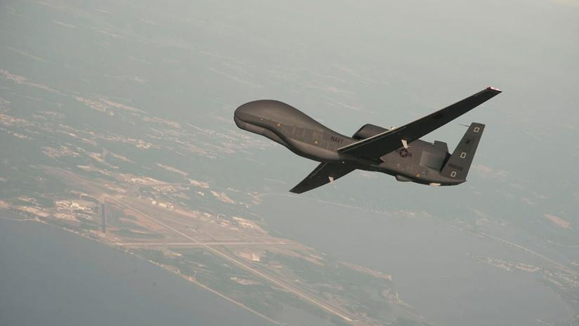 La Guardia Revolucionaria de Irán afirma haber derribado un dron estadounidense por violar su espacio aéreo